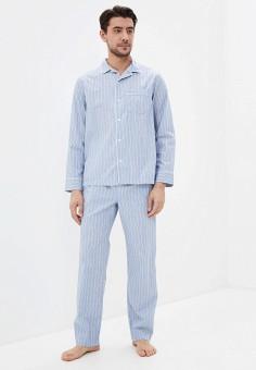 Пижама, Gap, цвет: голубой. Артикул: GA020EMIDGP2. Одежда / Домашняя одежда
