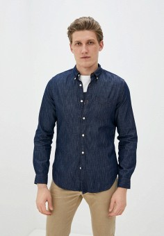 Рубашка джинсовая, Gap, цвет: синий. Артикул: GA020EMIDKV6.