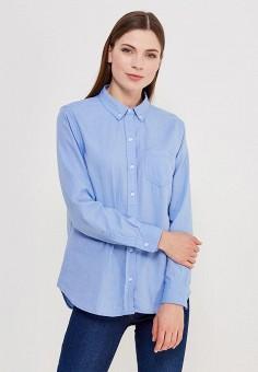Рубашка, Gap, цвет: голубой. Артикул: GA020EWAKPJ6. Одежда / Блузы и рубашки / Рубашки