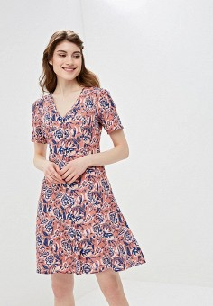 Платье, Gap, цвет: розовый. Артикул: GA020EWEGIA1.