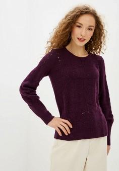 Джемпер, Gap, цвет: фиолетовый. Артикул: GA020EWGKUM5.