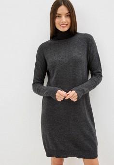 Платье, Gap, цвет: серый. Артикул: GA020EWGSDQ5.