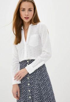 Блуза, Gap, цвет: белый. Артикул: GA020EWIDWE6.