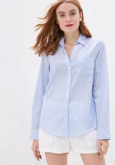 Рубашка, Gap, цвет: голубой. Артикул: GA020EWIDWE7. Одежда / Блузы и рубашки / Рубашки