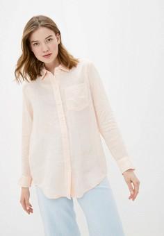 Рубашка, Gap, цвет: коралловый. Артикул: GA020EWIDWF4. Одежда / Блузы и рубашки / Рубашки