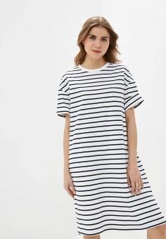 Платье, Gap, цвет: белый. Артикул: GA020EWIDWI2.