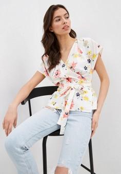 Блуза, Gap, цвет: белый. Артикул: GA020EWIDWI3.