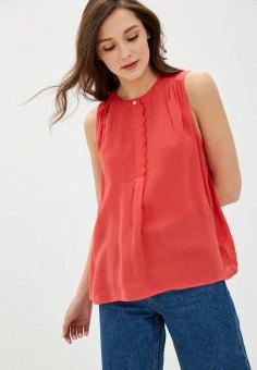 Блуза, Gap, цвет: красный. Артикул: GA020EWIDWJ8.