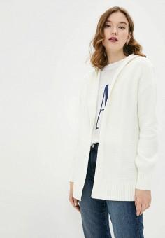 Кардиган, Gap, цвет: белый. Артикул: GA020EWIDWN0. Одежда / Джемперы, свитеры и кардиганы / Кардиганы