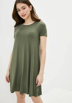 Платье, Gap, цвет: хаки. Артикул: GA020EWIDWY6.