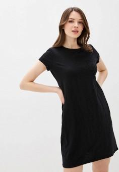 Платье, Gap, цвет: черный. Артикул: GA020EWIDWZ4.
