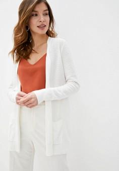 Кардиган, Gap, цвет: белый. Артикул: GA020EWIDXF3. Одежда / Джемперы, свитеры и кардиганы / Кардиганы