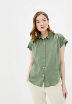Блуза, Gap, цвет: хаки. Артикул: GA020EWIDXF7.