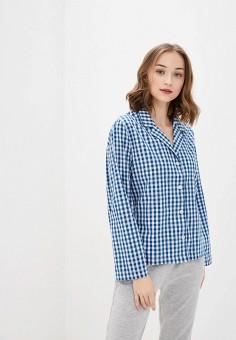 Рубашка домашняя, Gap, цвет: синий. Артикул: GA020EWIYPV7. Одежда / Домашняя одежда