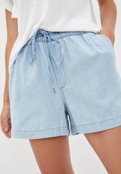 Шорты джинсовые, Gap, цвет: голубой. Артикул: GA020EWJVZK8. Одежда / Шорты