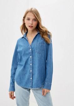 Рубашка, Gap, цвет: голубой. Артикул: GA020EWKBFO7. Одежда / Блузы и рубашки / Рубашки