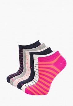 Комплект, Gap, цвет: белый, розовый, серый, синий. Артикул: GA020FWIYPW8.