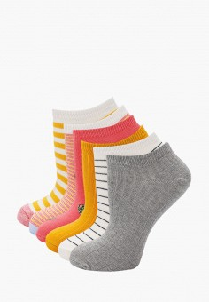 Комплект, Gap, цвет: белый, желтый, розовый, серый. Артикул: GA020FWIYPX0.