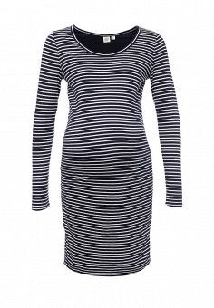 Платье, Gap Maternity, цвет: синий. Артикул: GA021EWNSO38.