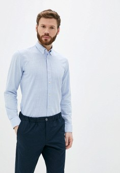 Рубашка, Galvanni, цвет: голубой. Артикул: GA024EMJFDJ6. Одежда / Рубашки
