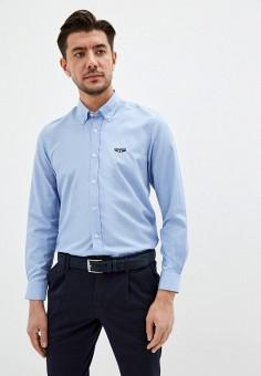 Рубашка, Galvanni, цвет: голубой. Артикул: GA024EMJFDN5. Одежда / Рубашки