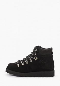 Ботинки, Gardenia Copenhagen, цвет: черный. Артикул: GA026AWHFPC6. Обувь / Ботинки / Высокие ботинки