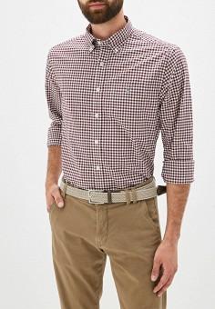 Рубашка, Gant, цвет: бордовый. Артикул: GA121EMFTLE3. Одежда / Рубашки / Рубашки с длинным рукавом