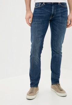 Джинсы, Gant, цвет: синий. Артикул: GA121EMJLGP1. Одежда / Джинсы / Зауженные джинсы