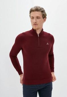 Джемпер, Gant, цвет: бордовый. Артикул: GA121EMKBXN8. Одежда / Джемперы, свитеры и кардиганы / Джемперы и пуловеры
