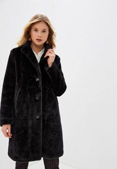 Шуба, Gerry Weber, цвет: черный. Артикул: GE002EWGEHI4. Одежда / Верхняя одежда / Шубы и дубленки