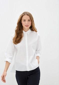 Рубашка, Gerry Weber, цвет: белый. Артикул: GE002EWJGNC7. Одежда / Блузы и рубашки / Рубашки
