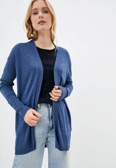 Кардиган, Gerry Weber, цвет: синий. Артикул: GE002EWJIVE5. Одежда / Джемперы, свитеры и кардиганы / Кардиганы