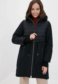 Куртка утепленная, Gerry Weber, цвет: черный. Артикул: GE002EWJIVZ0. Одежда / Верхняя одежда / Демисезонные куртки