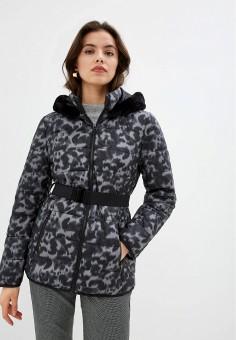 Куртка утепленная, Gerry Weber, цвет: серый. Артикул: GE002EWJIVZ3. Одежда / Верхняя одежда / Демисезонные куртки