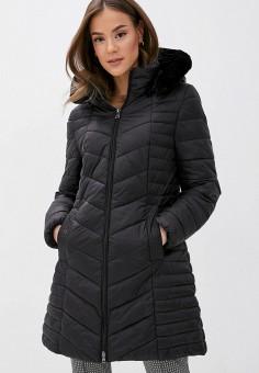 Куртка утепленная, Gerry Weber, цвет: черный. Артикул: GE002EWJIVZ6. Одежда / Верхняя одежда / Демисезонные куртки