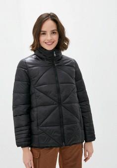 Куртка утепленная, Gerry Weber, цвет: черный. Артикул: GE002EWJIVZ8. Одежда / Верхняя одежда / Демисезонные куртки