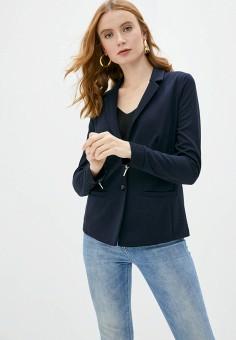 Пиджак, Gerry Weber, цвет: синий. Артикул: GE002EWJIWU4. Одежда / Пиджаки и костюмы
