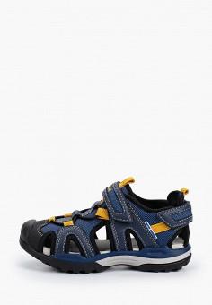 Сандалии, Geox, цвет: синий. Артикул: GE347ABIEDF5.