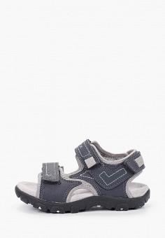 Сандалии, Geox, цвет: серый. Артикул: GE347ABIEDG0.