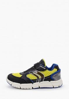 Кроссовки, Geox, цвет: черный. Артикул: GE347ABIEDI5. Мальчикам / Обувь / Кроссовки и кеды