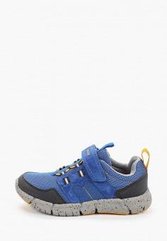 Кроссовки, Geox, цвет: синий. Артикул: GE347ABIEDI6.