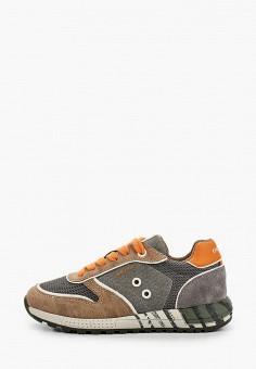 Кроссовки, Geox, цвет: мультиколор. Артикул: GE347ABIEDJ0. Мальчикам / Обувь / Кроссовки и кеды