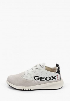 Кроссовки, Geox, цвет: серый. Артикул: GE347ABIEDM2.