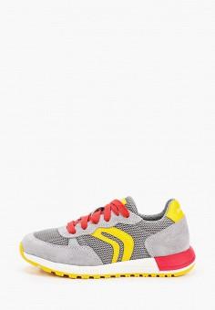 Кроссовки, Geox, цвет: серый. Артикул: GE347ABIEDN7.