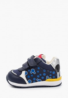 Кроссовки, Geox, цвет: синий. Артикул: GE347ABIEDO0.