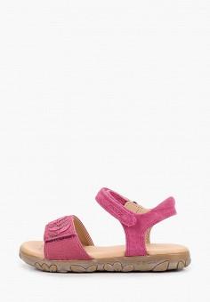Сандалии, Geox, цвет: розовый. Артикул: GE347AGIEDI3.