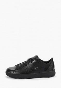 Кроссовки, Geox, цвет: черный. Артикул: GE347AMFSLT5.