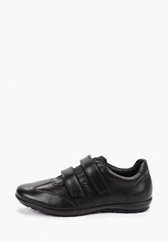Кроссовки, Geox, цвет: черный. Артикул: GE347AMFSLU0.