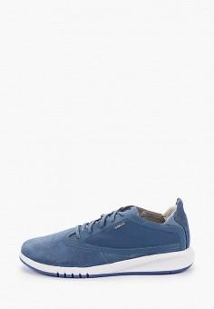Кроссовки, Geox, цвет: синий. Артикул: GE347AMIEDW4.