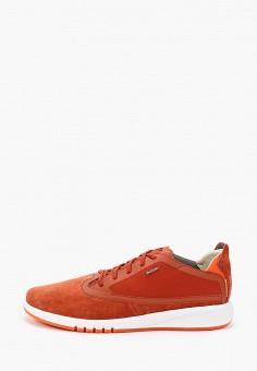 Кроссовки, Geox, цвет: оранжевый. Артикул: GE347AMIEDW5.